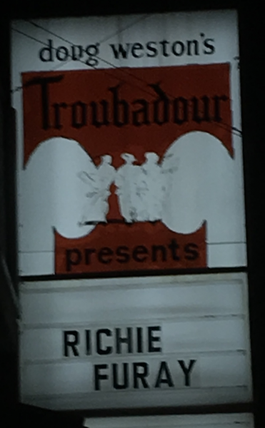 Richie Furay at the Troubadour