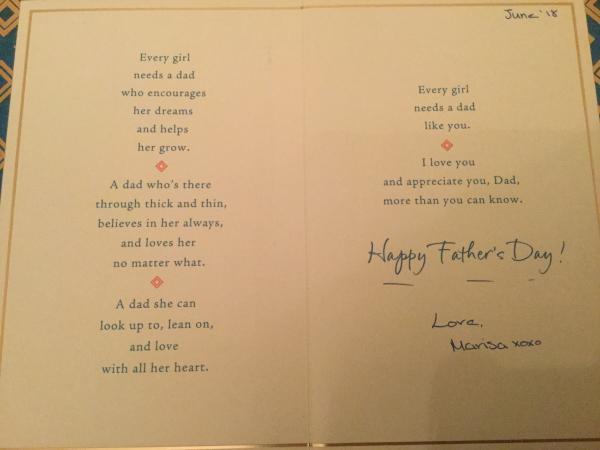 Card from Marisa